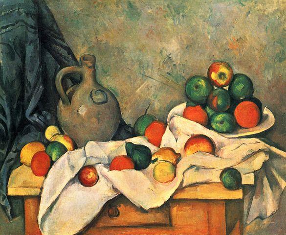 Compotier par Paul Cézanne