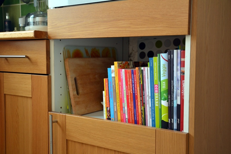 La cuisine de juliette - Ikea rangement livres ...