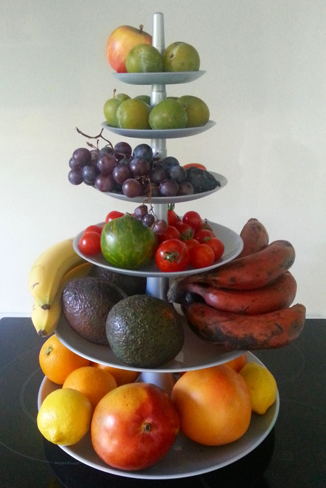 Pyramide de fruits - Tour de Babel - Koziol